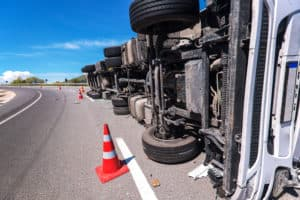 2 People Died in Semi-Truck Crash on US 95 [Beatty, NV]